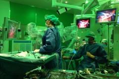 Levertumor weggehaald via operatierobot.