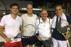 Tennis na slokdarmoperatie